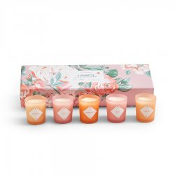 Two's Company Fleurette Set of 5 Scented Candles