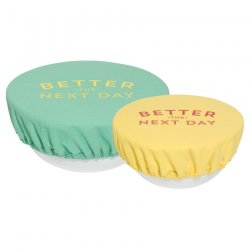Now Designs Bowl Covers - Set of 2 - Better Next Day