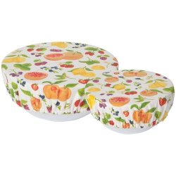 Now Designs Bowl Covers - Set of 2 - Fruit Salad