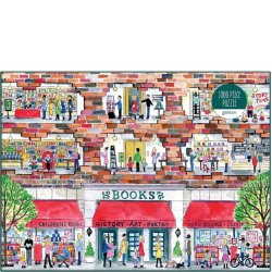 Galison 1000 pc Puzzle - A Day at the Bookstore