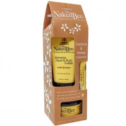 The Naked Bee Coconut & Honey 3 PC Hand and Body Carton Gift Set