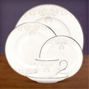 "LENOX ""Opal Innocence Scroll"" 5 pc. Place Setting, Style #806484"