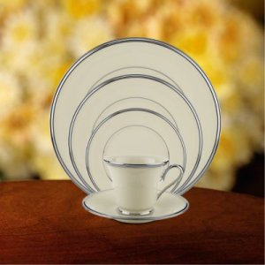 """LENOX """"Solitaire"""" 5 pc. Place Setting, Style #14029060"""