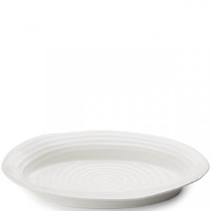 "SOPHIE CONRAN ""White"" Platter, Oval Medium 14.5"" x 12"", Style #434356"