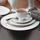 "WEDGWOOD ""Wedgwood White "" White 5 pc. Place Setting, Style #0010540400"
