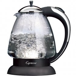 Capresso H20 Plus Glass Water Kettle Style #259