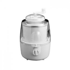 DENI Automatic Ice Cream Maker With Candy Crusher, white Style #5205